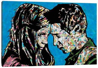 The Girl Who Waited Canvas Art Print