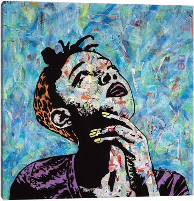 Thinker I Canvas Art Print