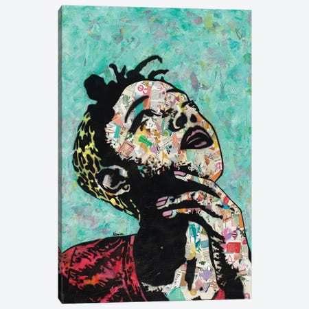 Thinker II Canvas Print #ASM32} by Amy Smith Canvas Artwork