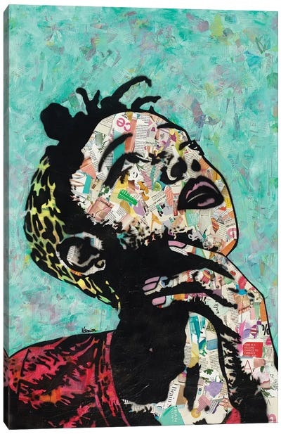 Thinker II Canvas Art Print