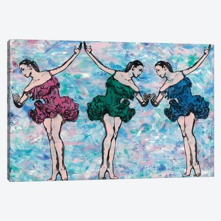 Trio Canvas Print #ASM33} by Amy Smith Canvas Wall Art