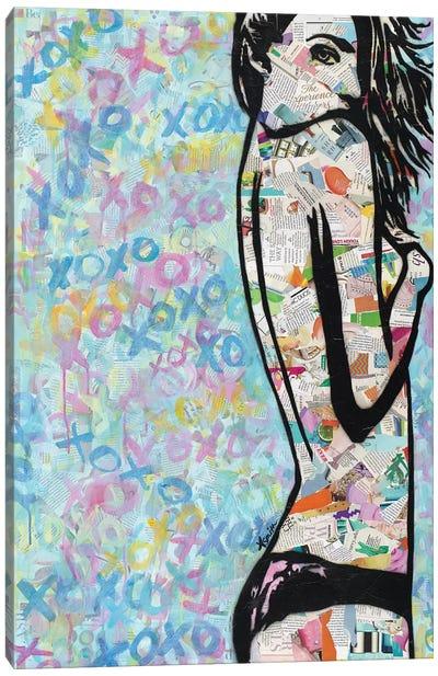 XOXO Canvas Art Print