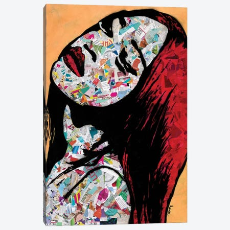 Bold Canvas Print #ASM3} by Amy Smith Canvas Artwork