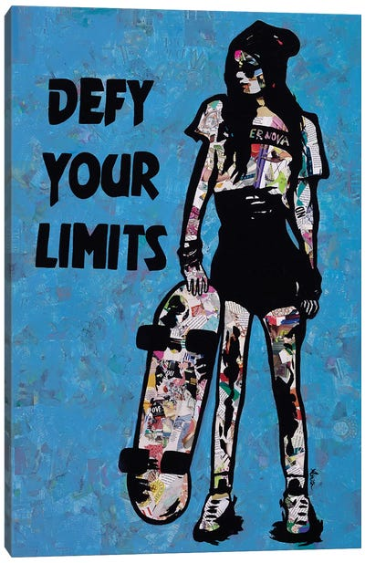 Defy Your Limits Canvas Art Print