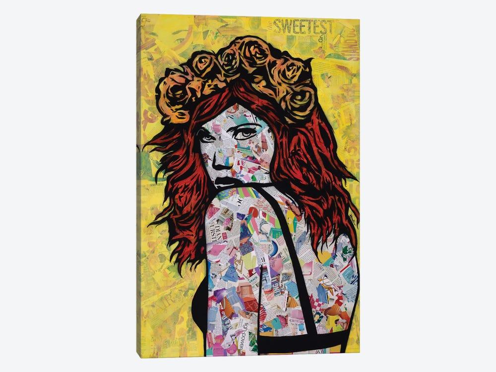 Em On Fire by Amy Smith 1-piece Canvas Artwork