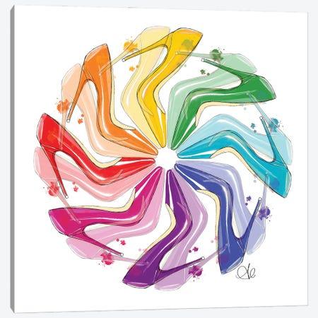 Shoe Theory Canvas Print #ASN14} by Alison Petrie Canvas Art