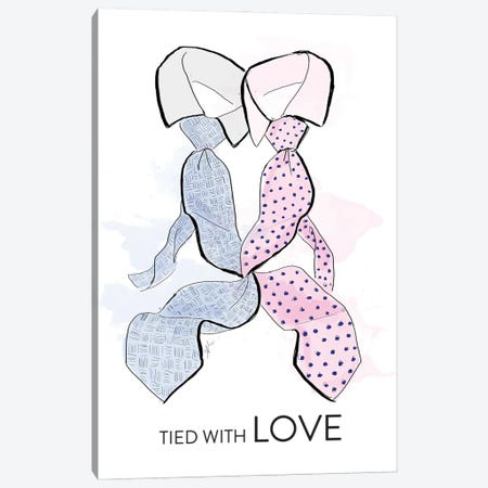 Tied With Love Canvas Print #ASN15} by Alison Petrie Canvas Art