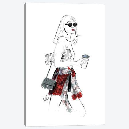 The Alexa Canvas Print #ASN17} by Alison Petrie Canvas Artwork