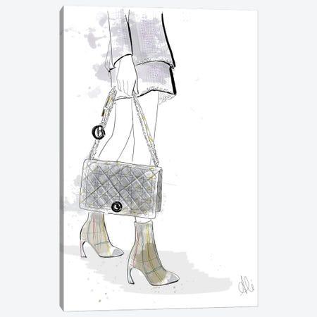 Bonjour Couture Canvas Print #ASN20} by Alison Petrie Canvas Artwork
