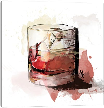 Bowd's Drink Canvas Art Print