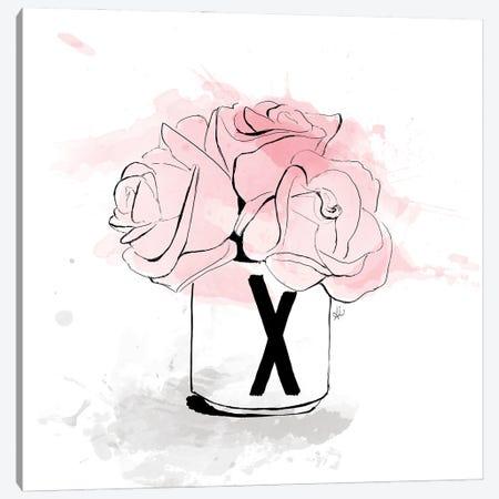 X Bouquet Canvas Print #ASN27} by Alison Petrie Art Print