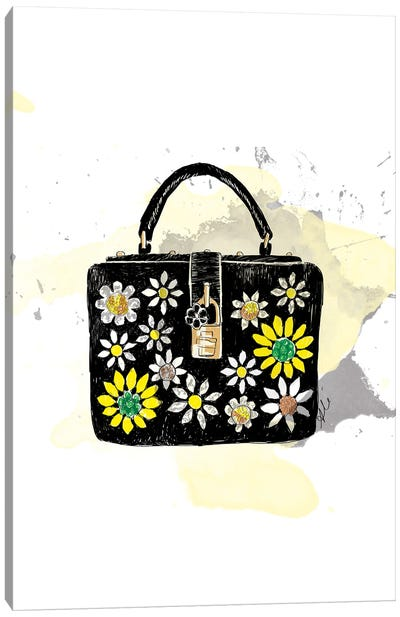 Bloom Bag Canvas Art Print