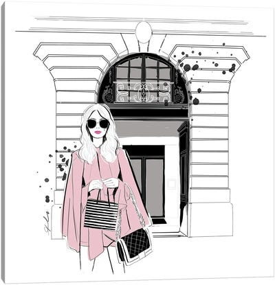 Fashion Week Canvas Art Print