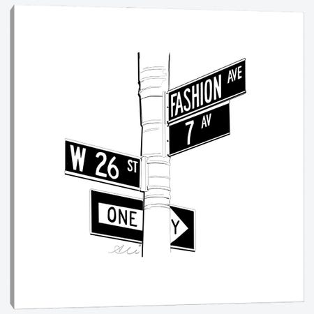 Fashion Ave Canvas Print #ASN46} by Alison Petrie Canvas Art Print