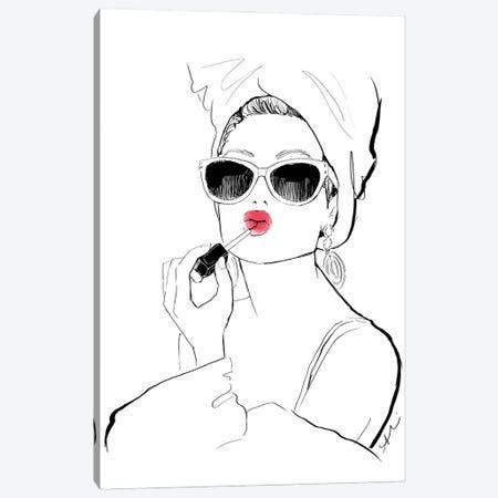 Glamour Shot Canvas Print #ASN53} by Alison Petrie Art Print