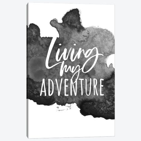 Living My Adventure Canvas Print #ASN56} by Alison Petrie Canvas Artwork