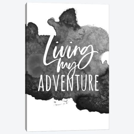 Living My Adventure Canvas Print #ASN56} by Alison Petrie Canvas Artwork