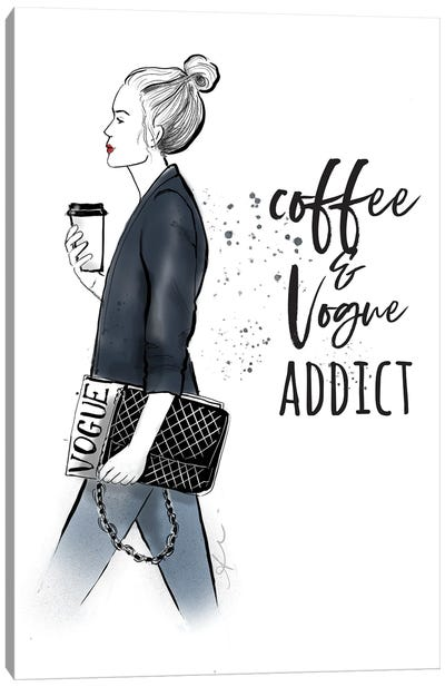 Coffee Magazine Canvas Art Print