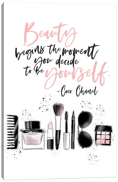 Be Yourself Canvas Art Print