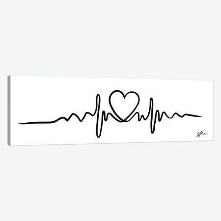 Heartline Canvas Print #ASN67} by Alison Petrie Canvas Print