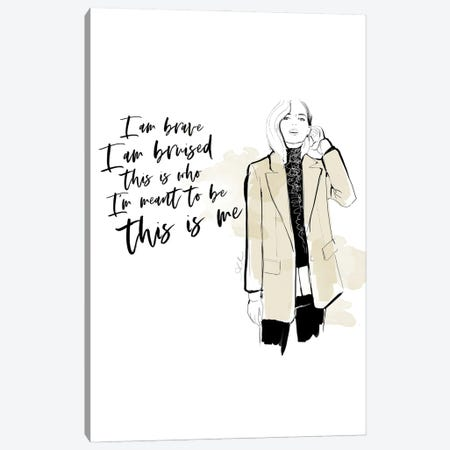 This Is Me Canvas Print #ASN72} by Alison Petrie Canvas Print