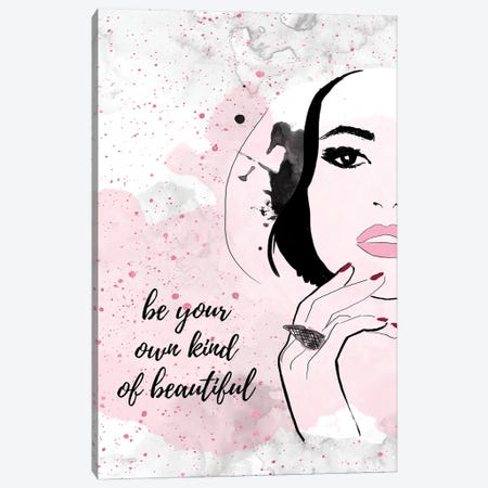 Beautiful You Canvas Print #ASN91} by Alison Petrie Canvas Art Print