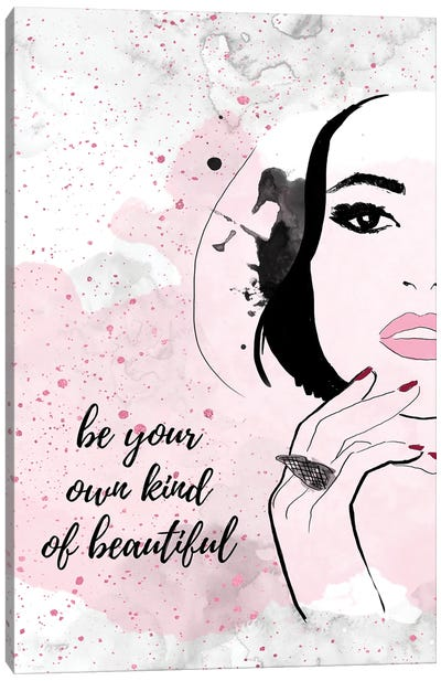 Beautiful You Canvas Art Print