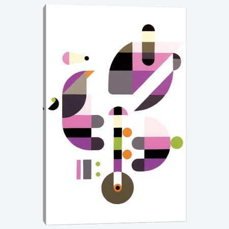 Concerto For Birds Canvas Print #ASQ11} by Antony Squizzato Canvas Artwork