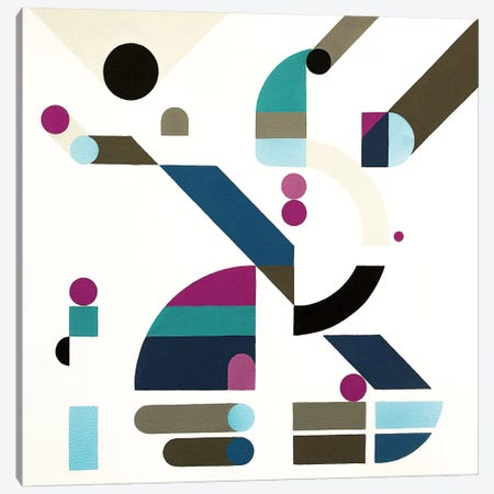 Elevation Canvas Print #ASQ12} by Antony Squizzato Canvas Art