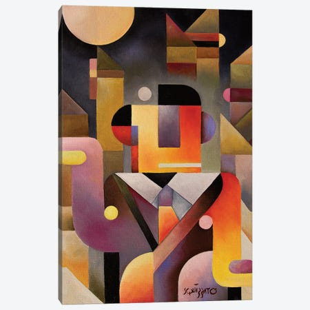 Monday Dance Canvas Print #ASQ17} by Antony Squizzato Canvas Print