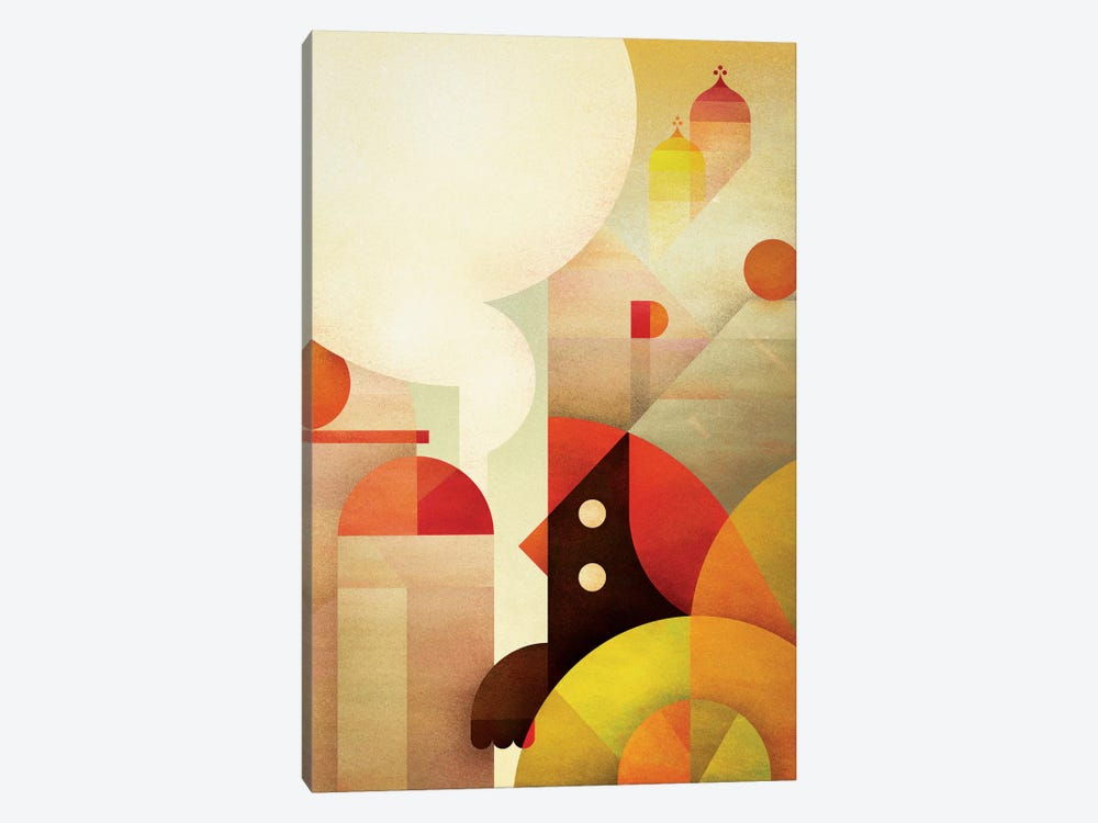 Canopy Bird by Antony Squizzato 1-piece Canvas Artwork