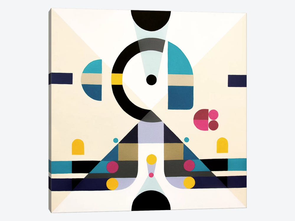Open Minded by Antony Squizzato 1-piece Canvas Wall Art