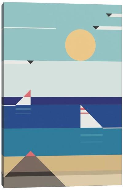 Quiet Sea Canvas Art Print