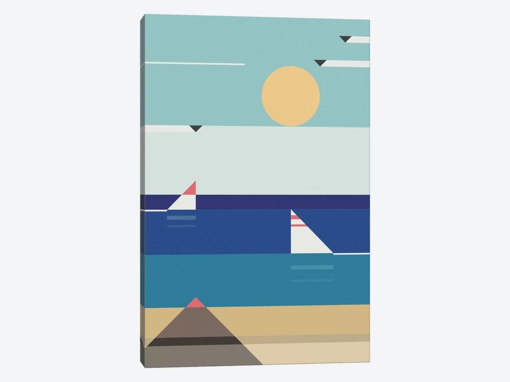 Quiet Sea by Antony Squizzato 1-piece Art Print