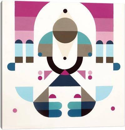 Rainbow Island Canvas Print #ASQ28