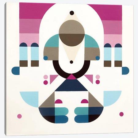 Rainbow Island Canvas Print #ASQ28} by Antony Squizzato Canvas Print