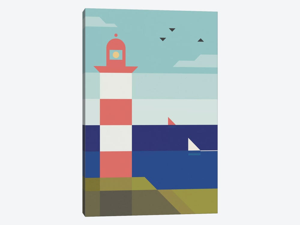 Lighthouse by Antony Squizzato 1-piece Canvas Art Print