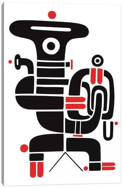 Tubaman Canvas Art Print