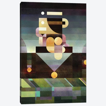 Unstable Thinker Canvas Print #ASQ37} by Antony Squizzato Art Print