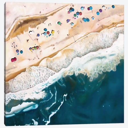 Long Island Beach Canvas Print #ASQ3} by Antony Squizzato Canvas Print