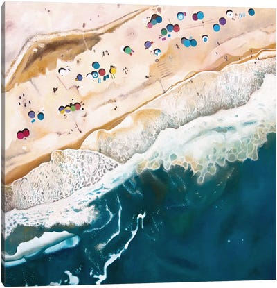 Long Island Beach Canvas Art Print