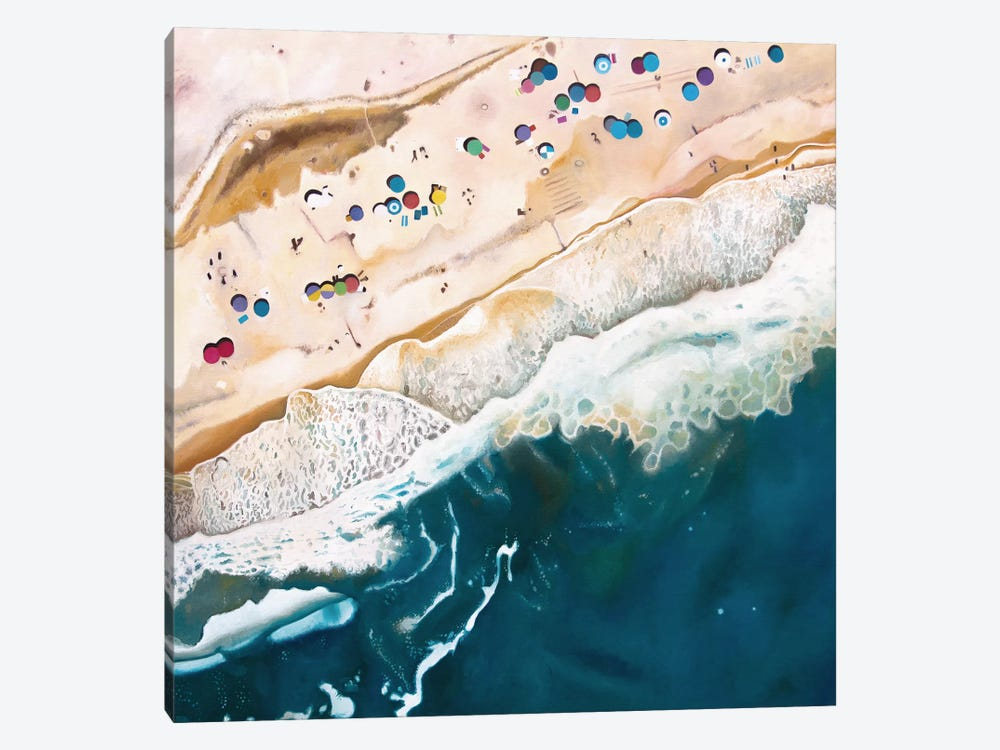 Long Island Beach by Antony Squizzato 1-piece Canvas Art