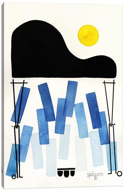 Blues Notes Canvas Art Print