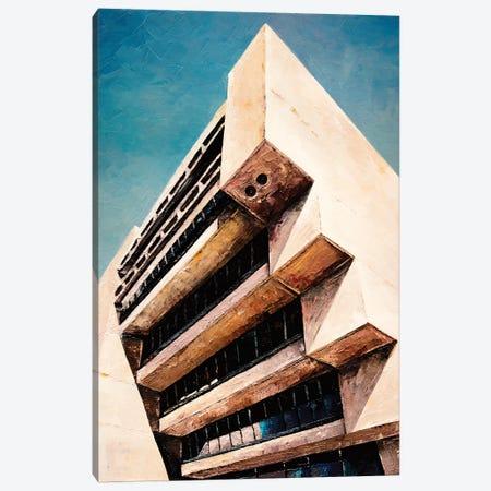 Dallas City Canvas Print #ASQ44} by Antony Squizzato Canvas Art