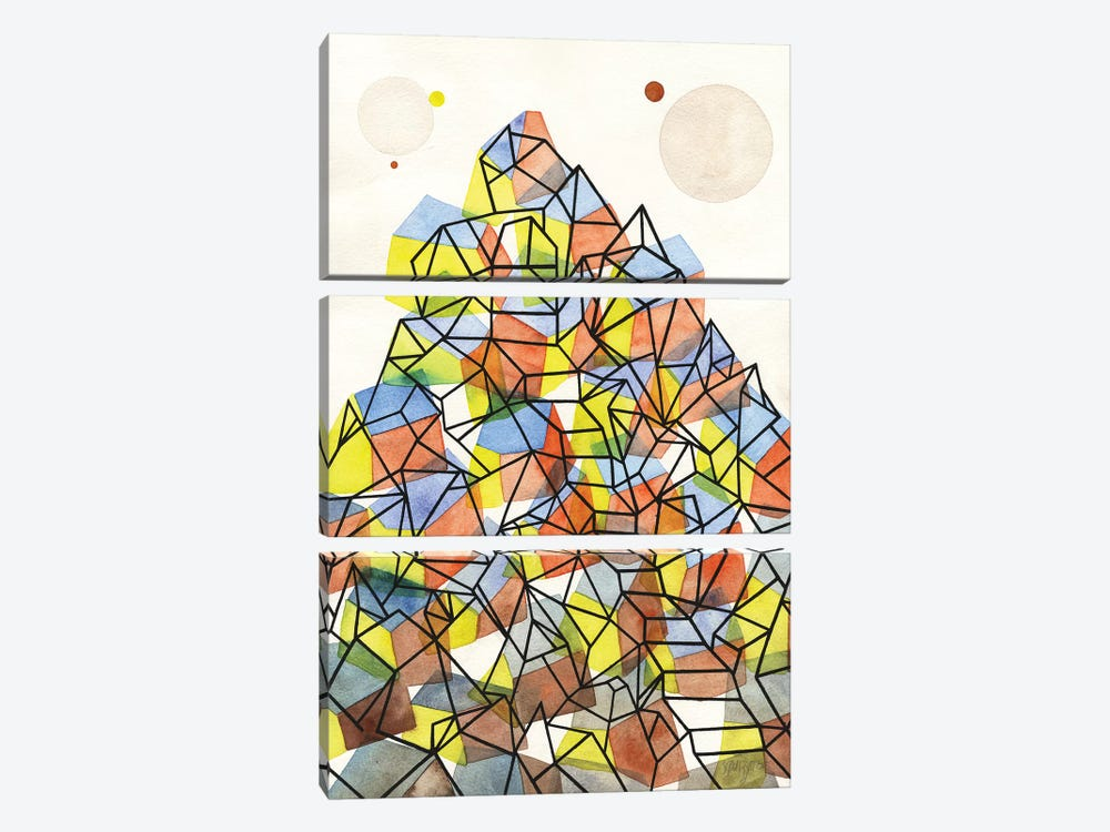 Domus by Antony Squizzato 3-piece Art Print