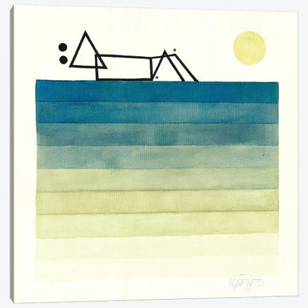 Escape Canvas Print #ASQ48} by Antony Squizzato Canvas Art Print