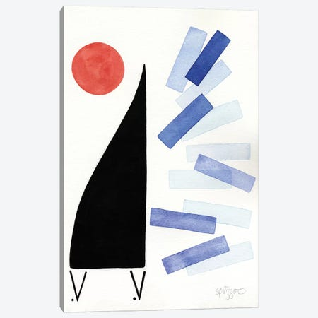 Free Jazz Canvas Print #ASQ49} by Antony Squizzato Canvas Print