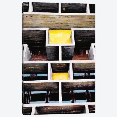 Le Corbusier Chandigarh Canvas Print #ASQ52} by Antony Squizzato Canvas Art