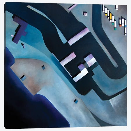 Lyckeby Canvas Print #ASQ54} by Antony Squizzato Canvas Art Print