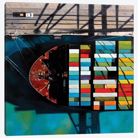 Miami Canvas Print #ASQ58} by Antony Squizzato Canvas Artwork